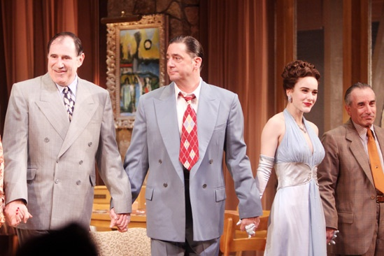 'The Big Knife' Opening — Richard Kind — Reg Rogers — Rachel Brosnahan — Chip Zien