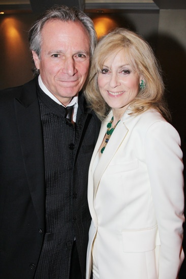Judith Light with her husband Robert Desiderio