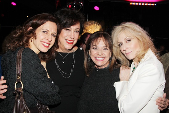 The Assembled Parties – Opening Night – Jessica Hecht – Lynne Meadow – Valerie Harper – Judith Light