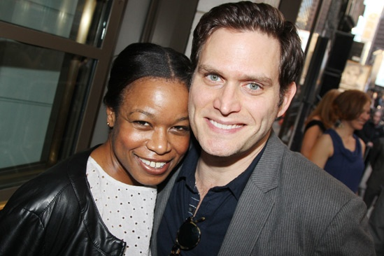 The Assembled Parties – Opening Night – Quincy Tyler Bernstine – Steven Pasquale