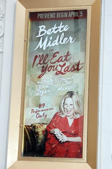 I'll Eat You Last- Bette Midler