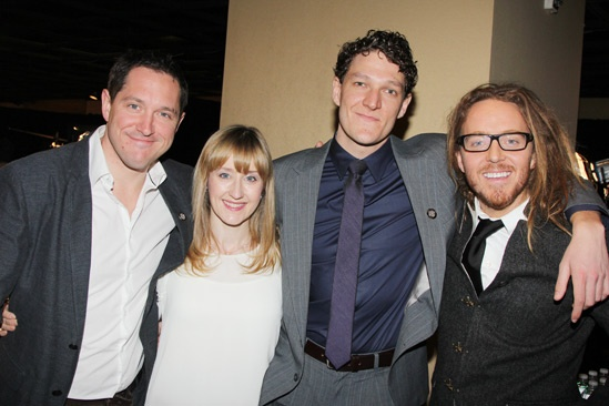 2013 Tony Nominee Brunch — Bertie Carvel — Lauren Ward — Gabriel Ebert — Tim Minchin