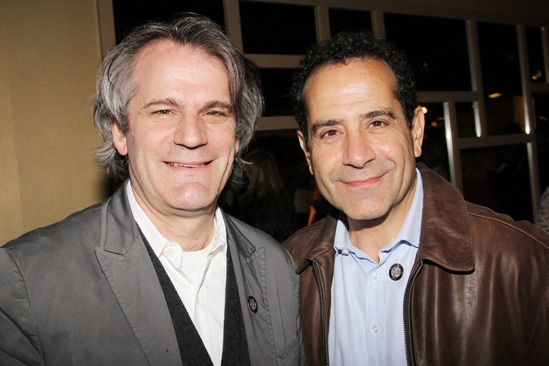 2013 Tony Nominee Brunch — Bartlett Sher — Tony Shalhoub