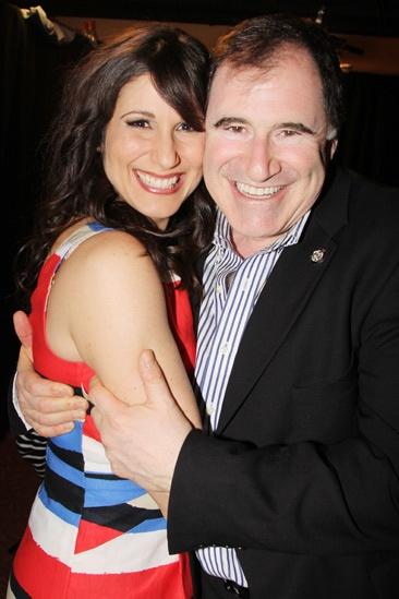 2013 Tony Nominee Brunch — Stephanie J. Block — Richard Kind