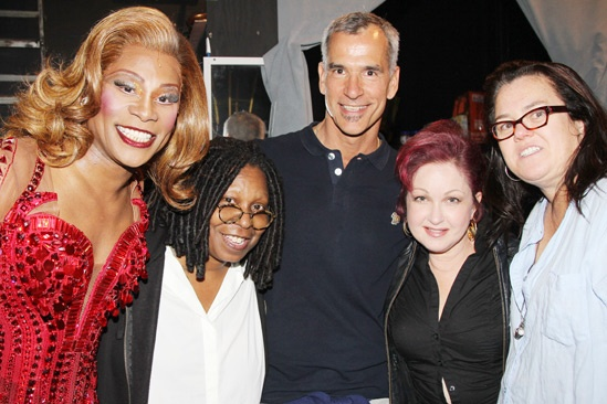 Kinky Boots- Billy Porter- Whoopi Goldberg- Jerry Mitchell- Cyndi Lauper- Rosie O'Donnell