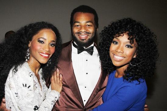 Brandy at 'Motown' — Valisia LeKae — Brandon Victor Dixon — Brandy