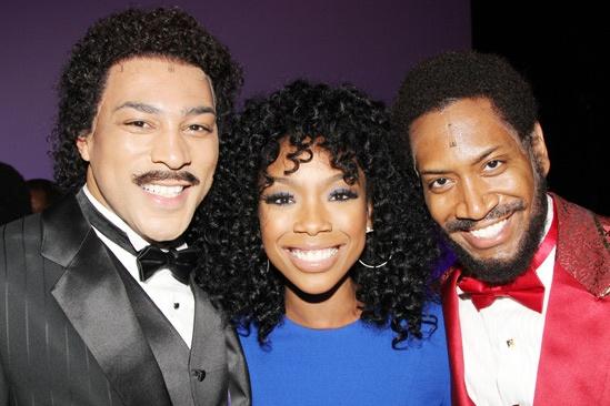 Brandy at 'Motown' — Charl Brown — Brandy — Bryan Terrell Clark