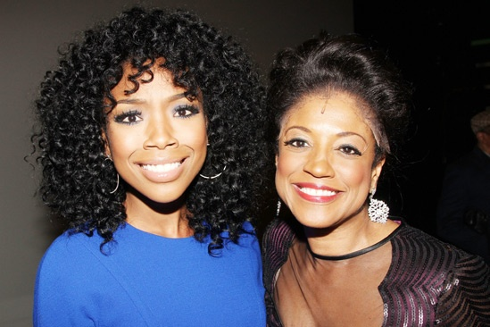 Brandy at 'Motown' — Brandy — Marva Hicks