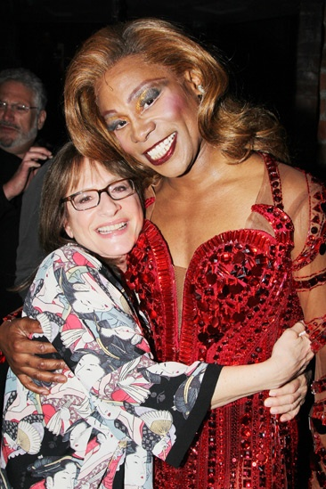 Celebs at Kinky Boots — Patti LuPone — Billy Porter
