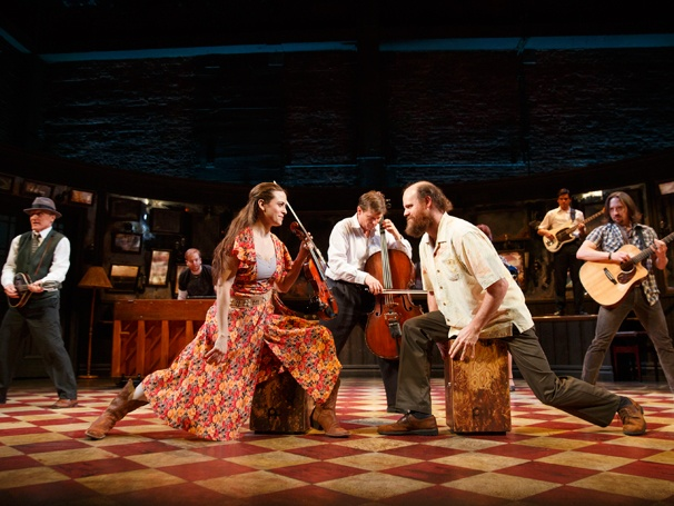 Arthur Darvill and Joanne Christie in 'Once': Show Photos — David Patrick Kelly —David Abeles — Erikka Walsh — Andy Taylor — Paul Whitty — Carlos Valdes — J. Michael Zygo