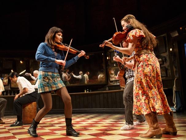 Arthur Darvill and Joanne Christie in 'Once': Show Photos — Katrina Lenk —Erikka Walsh