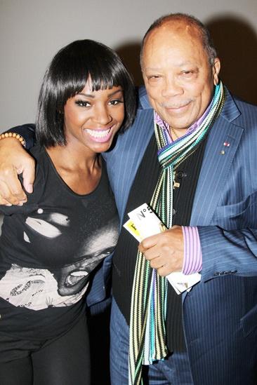 Quincy Jones at 'Motown' — Saycon Sengbloh — Quincy Jones