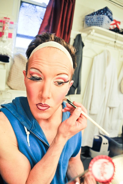 Kinky Boots Backstage- Paul Canaan