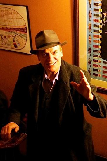 Courtney B. Vance Backstage at 'Lucky Guy' — Christopher McDonald