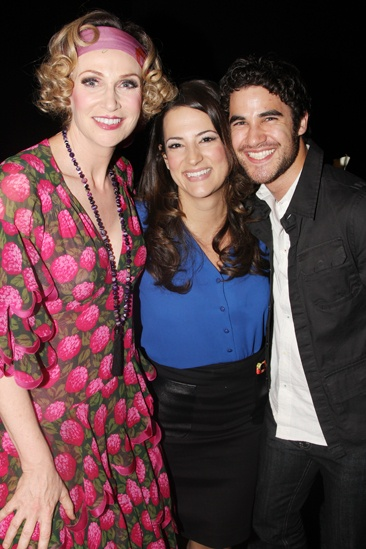 Annie Jane Lynch Opening- Jane Lynch- Eleni- Darren Criss