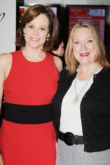 2013 Drama League Awards Luncheon — Sigourney Weaver — Kristine Nielsen