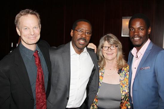 2013 Drama League Awards Luncheon — Bill Irwin — Courtney B. Vance — Judith Ivey — Stephen Tyrone Williams