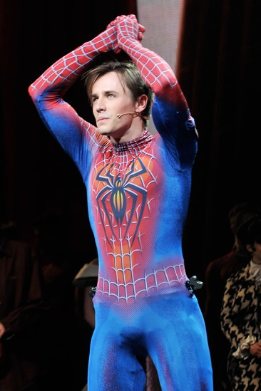 Spider-Man - 1000th Performance - Reeve Carney