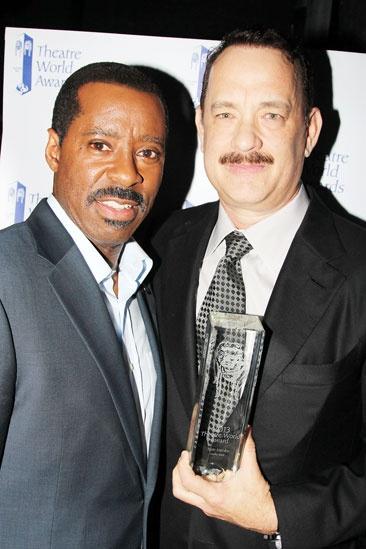 2013 Theatre World Awards — Courtney B. Vance — Tom Hanks