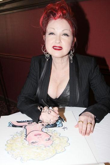 Sardi's- Kinky Boots- Cyndi Lauper