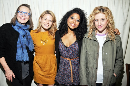 Murder Ballad – Glass Menagerie Cast Visit – Cherry Jones – Celia Keenan-Bolger – Rebecca Naomi Jones – Caissie Levy