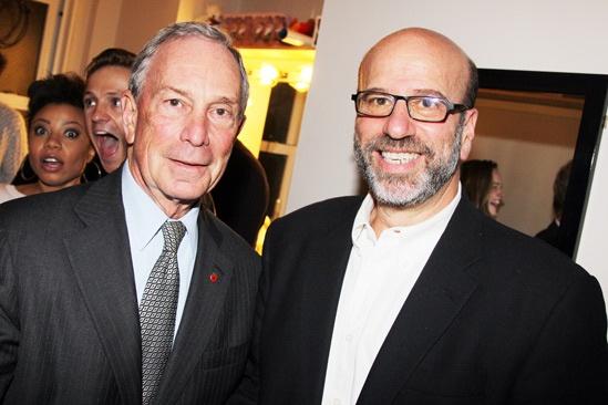 Vanya and Sonia and Masha and Spike- Mayor Michael Bloomberg- Larry Hirschhorn