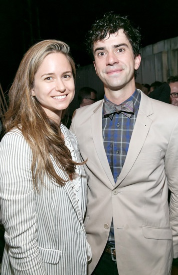 'The Comedy of Errors' Opening in Central Park — Katherine Waterston — Hamish Linklater
