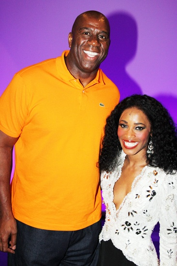 Magic Johnson at Motown — Magic Johnson — Valisia LeKae