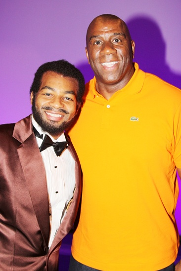 Magic Johnson at Motown — Brandon Victor Dixon — Magic Johnson