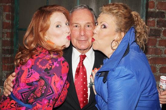 Kinky Boots- Tory Ross- Mayor Mike Bloomberg- Jennifer Perry