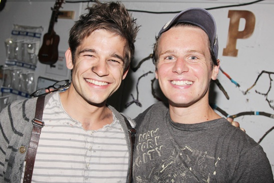 Jonathan Groff at Peter and the Starcatcher - Jason Ralph - Jonathan Groff