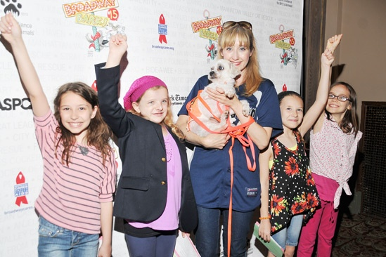 Broadway Barks 2013 — Bailey Ryon — Milly Shapiro — Lauren Ward — Sophia Gennusa — Oona Laurence