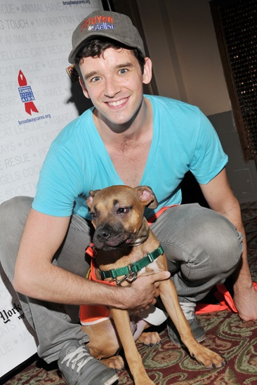 Broadway Barks 2013 — Michael Urie