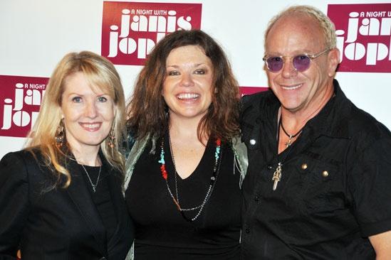 'A Night with Janis Joplin' Press Event — Patricia Wilcox — Mary Bridget Davies — Randy Johnson