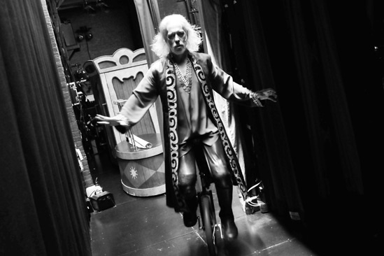 Pippin – Backstage Photos – Terrence Mann