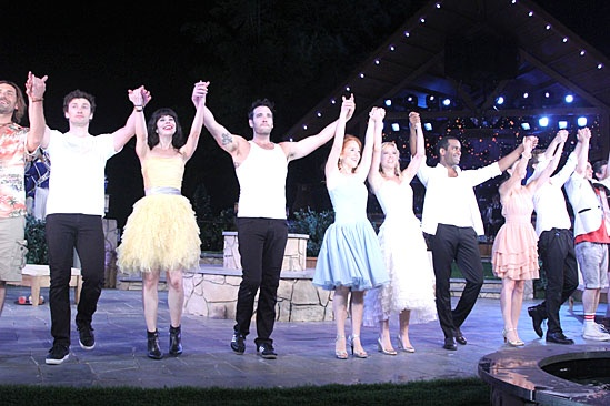 'Love's Labour's Lost' Opening — Curtain Call