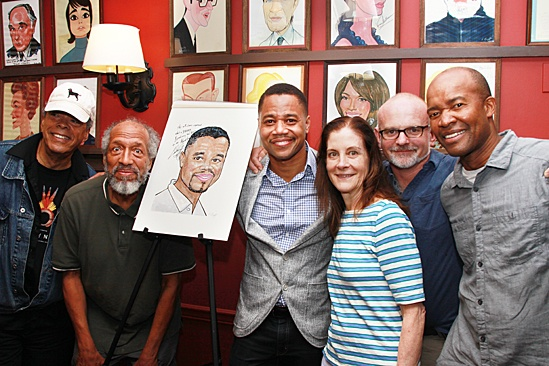 The Trip to Bountiful – Cuba Portrait at Sardi's – Charles Turner – Arthur French – Cuba Gooding Jr. – Hallie Foote – Michael Wilson – Leon Addison Brown