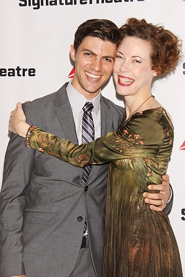 The Old Friends – Opening Night – Sean Lyons - Veanne Cox