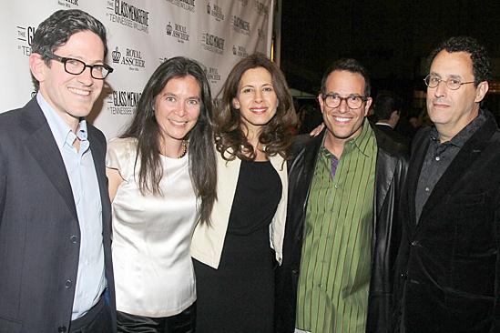 'The Glass Menagerie' Opening — Randy Weiner — Diane Paulus — Jessica Hecht — Michael Mayer — Tony Kushner