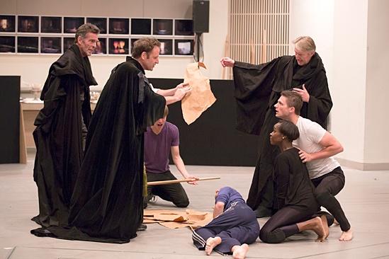Macbeth – Rehearsal Photos – John Glover – Malcolm Gets – Byron Jennings