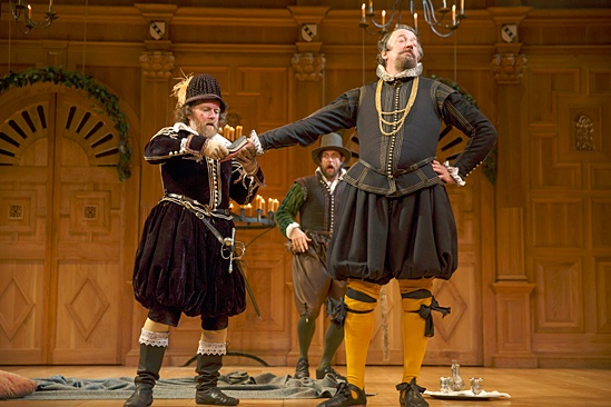 <I>Twelfth Night</I>: Show Photos - Colin Hurley - Jethro Skinner - Stephen Fry