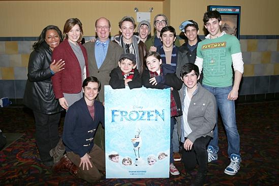 Frozen – Newsies Screening – Group