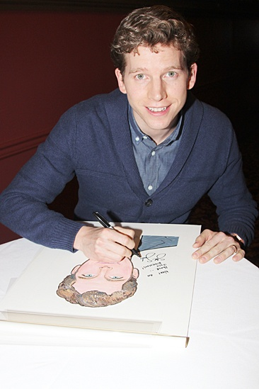 Kinky Boots at Sardi's – Stark Sands
