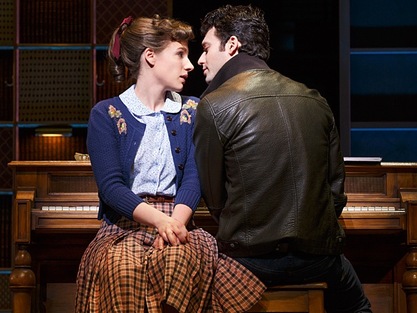 <i>Beautiful: The Carole King Musical</i>: Show Photos — Jessie Mueller - Jake Epstein