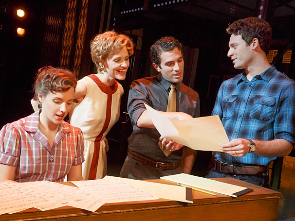 <i>Beautiful: The Carole King Musical</i>: Show Photos - Jessie Mueller - Anika Larson - Jarrod Spector -  Jake Epstein
