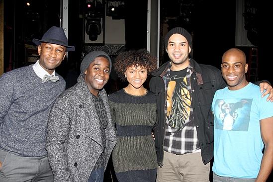 Motown: The Musical - Donald Webber Jr - Mykal Kilgore - Syesha Mercado - Nicholas Christopher -  Wilkie Ferguson