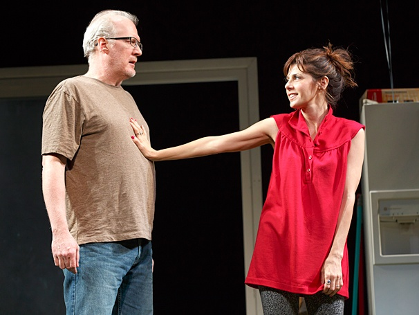 The Realistic Joneses - Show Photos - PS - 4/14 - Tracy Letts - Marisa Tomei