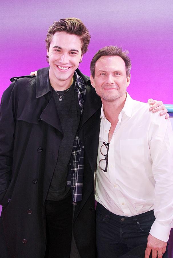 Ryan McCartan - Christian Slater