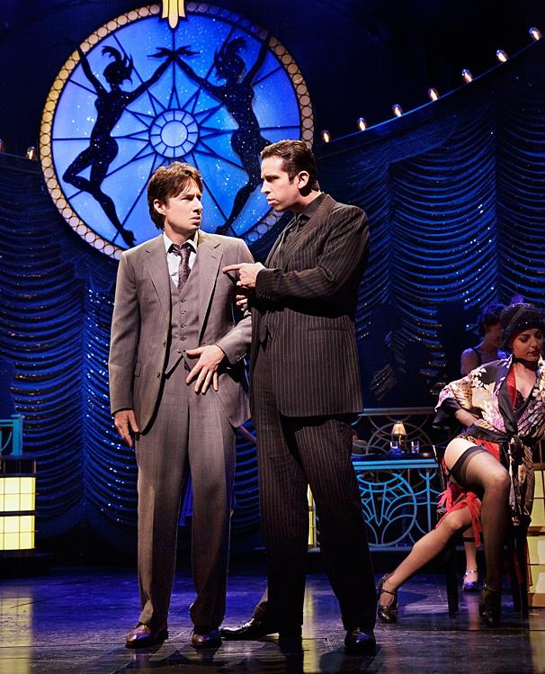 Bullets Over Broadway - Show Photos - PS - 4/14 - Zach Braff - Nick Cordero