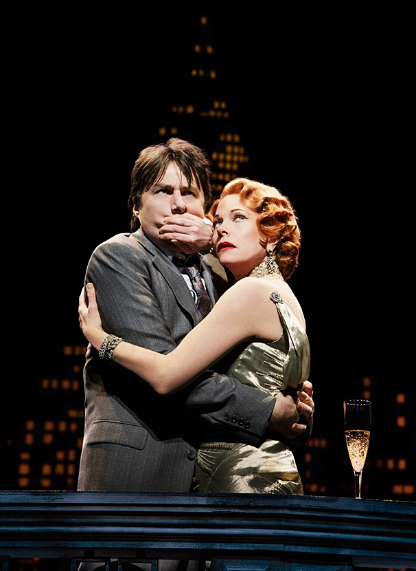 Bullets Over Broadway - Show Photos - PS - 4/14 - Zach Braff - Marin Mazzie